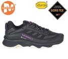 丹大戶外 美國【MERRELL】戶外鞋 MOAB SPEED GTX 女鞋 黃金大底 登山 黑/紫 ML066850