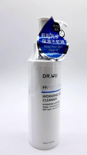 DR.WU 達爾膚 玻尿酸保濕潔顏凝露 (原玻尿酸保濕潔顏露改版) 150ml