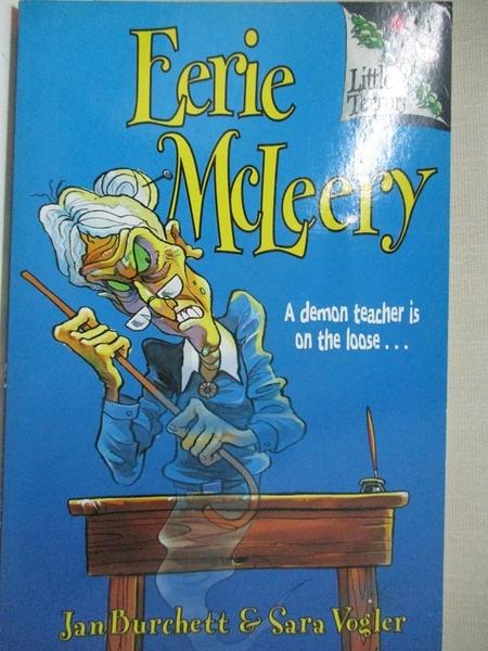 【書寶二手書T2/兒童文學_GFB】Eerie McLeery_Jan Burchett, Judy Brown, Sara Vogler