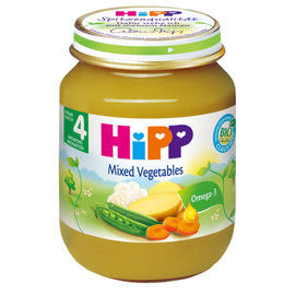 HiPP喜寶 有機綜合蔬菜泥125g