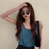 2020夏季新款韓版時尚網紅外穿休閒無袖上衣內搭打底小背心女INS