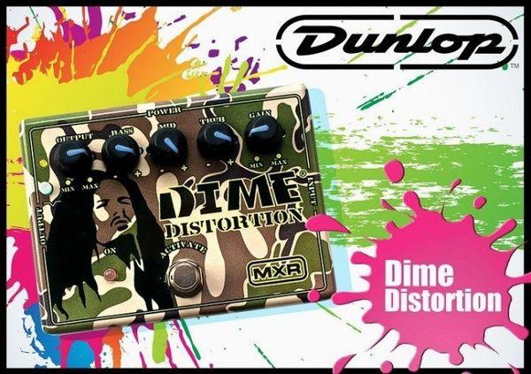 【小麥老師 樂器館】Dunlop MXR Dime Distortion DD11 破音 效果器