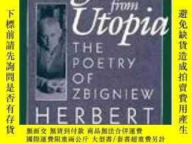 二手書博民逛書店【罕見】1987年A Fugitive From Utopia: