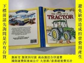 二手書博民逛書店the罕見story of a tractor:拖拉機的故事Y212829