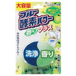 日本雞仔牌 酵素馬桶芳香除臭劑-120g(青蘋果香)
