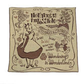 DISNEY愛麗絲日本製三層紗紗布手帕/餐巾(Wandering)★funbox★丸真_RS59997