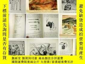 二手書博民逛書店1899年版《西藏禁地》上下卷 罕見200餘幅插圖 (8張全綵插