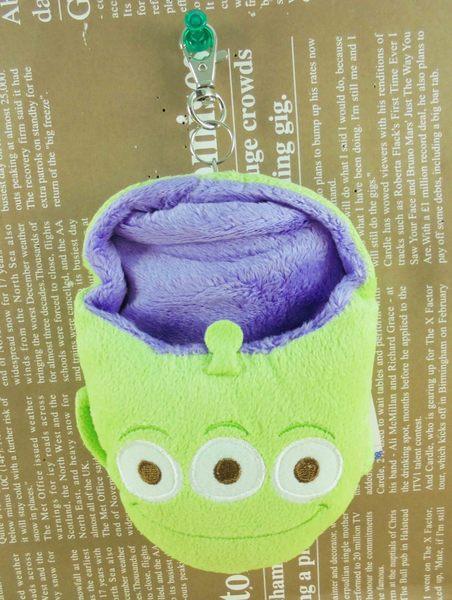 【震撼精品百貨】Metacolle 玩具總動員-票夾夾/套-三眼怪圖案-絨毛