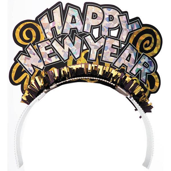 髮箍1入-新年快樂