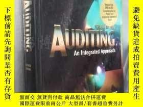 二手書博民逛書店Auditing罕見An Integrated Approach