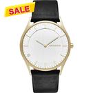 SKAGEN HOLST 全球限量特別版腕錶/手錶-金框x黑/38mm SKW6246