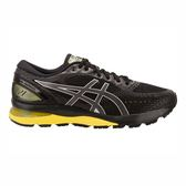 Asics GEL-Nimbus 21 [1011A169-003] 男鞋 運動 慢跑 休閒 黑 黃 亞瑟士