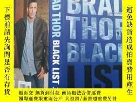 二手書博民逛書店BRAD罕見THOR BLACK LIST(布萊德·斯奧黑名單)