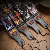 RUIZ魯伊斯吉他背帶民謠古典電吉他貝斯吉它背帶加寬加厚吉他肩帶 挪威森林
