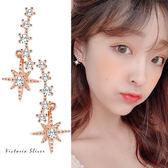 925純銀針  韓國優雅氣質時尚風格耳環-維多利亞190564