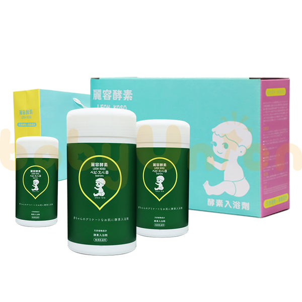 Leon Koso麗容酵素 - 酵素入浴劑600g/3入禮盒組