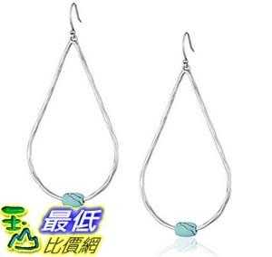[美國直購] Lucky Brand Women s Campania Oversized Hammered Hoop Earrings Silver Hoop Earrings 耳環