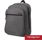 Backbager 背包族【比利時Hedgren】14吋筆電後背包/背包-黑色/褐色