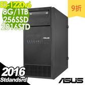 【現貨】ASUS伺服器 TS100-E9 E3-1220v6/8G/1T+256/2016STD 商用伺服器