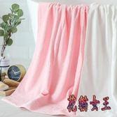 浴巾 棉質成人柔軟吸水家用男女兒童浴巾 毛巾 BF7083【花貓女王】