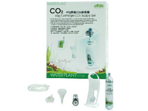 [ 台中水族 ]台灣ISTA 45g鋼瓶CO2供應組 特價