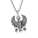 【5折超值價】經典埃及神話老鷹守護神造型男款鈦鋼項鍊