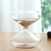 北歐極簡玻璃沙漏計時器創意臥室家居客廳裝飾品擺件男女生日禮物