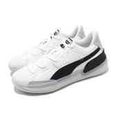 Puma 籃球鞋 Clyde Hardwood 白 黑 男鞋 低筒 運動鞋 【PUMP306】 19366301