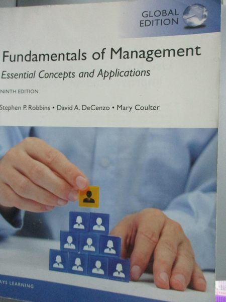 【書寶二手書T6/大學商學_XEK】Fundamentals of Management_Robbins