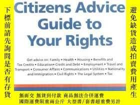 二手書博民逛書店英文版罕見Citizens advice guide to yo
