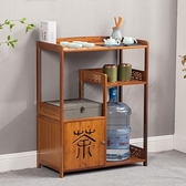 茶車實木移動茶台桌簡約現代茶桌茶盤客廳家用中式泡茶小茶台 艾莎