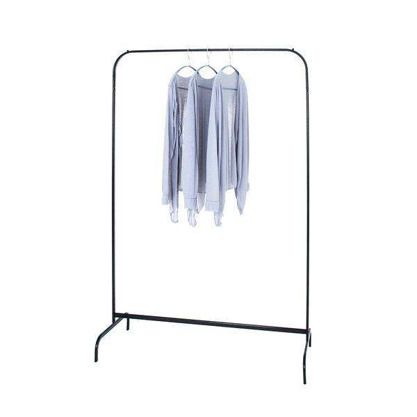 衣架 衣桿架 ㄇ型吊衣架 吊衣桿 收納衣物 北歐寧靜黑 樂嫚妮 旺寶百貨