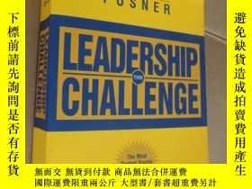 二手書博民逛書店THE罕見LEADERSHIP CHALLENGE 英文原版小1