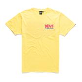 Deus Ex Machina Simpli-City Tee T恤-(黃)