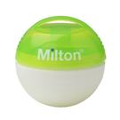 英國 Milton 米爾頓 攜帶式奶嘴消毒球(需搭配迷你消毒錠同時使用) 大地綠