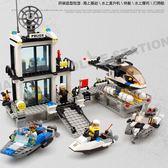 LEGO組裝積木兼容積木拼裝城市汽車男孩子6-8-10周歲益智玩具7兒童3警察局wy
