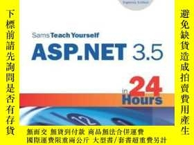 二手書博民逛書店Sams罕見Teach Yourself Asp.net 3.5 In 24 Hours, Complete St