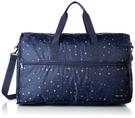 HAPITAS 星空藍 旅行袋 行李袋 摺疊收納旅行袋 插拉桿旅行袋 HAPI+TAS H0004-170 (大)