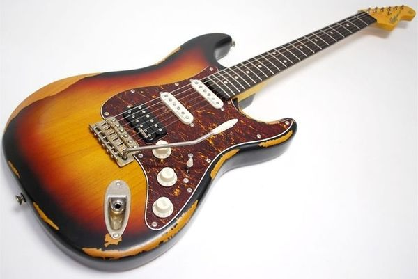 【金聲樂器】英國 Vintage V6 HMRSB 復刻仿舊版 電吉他