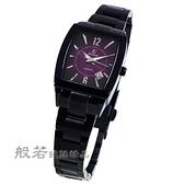 SIGMA 日系經典時尚女錶-黑x酒紅