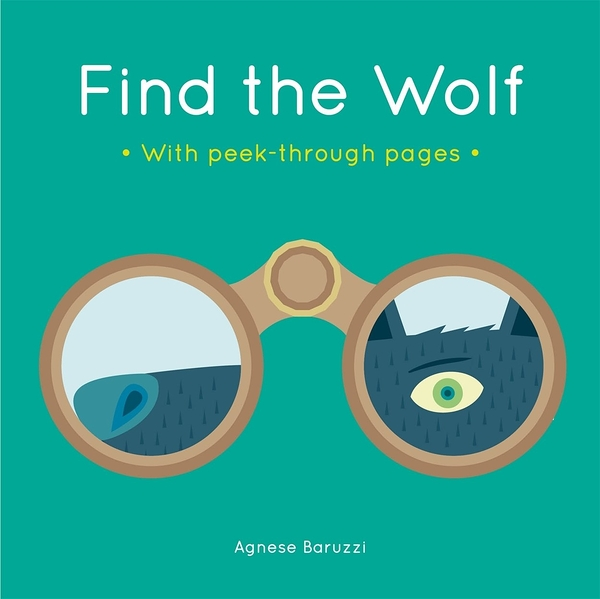 Find The Wolf With Peek-Through Pages 尋找大野狼 趣味硬頁書