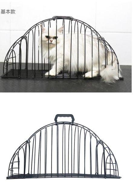 寵物貓籠貓咪洗澡籠吹風打針洗貓籠洗貓袋運輸貓籠子雙開門貓籠zg【全館88折~限時】