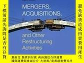 全新書博民逛書店MergersAcquisitions And Other Restructuring Activities Ei