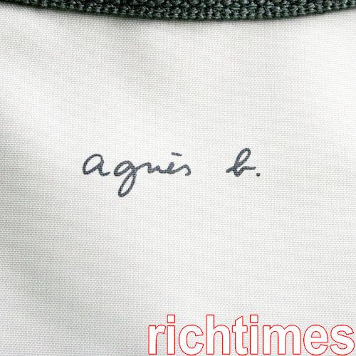 【裕代 agnes b】青春旅行包(灰)AB080403