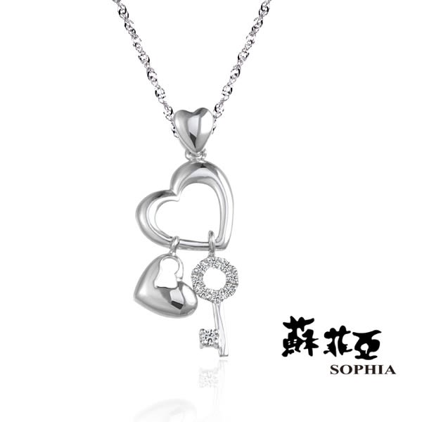 蘇菲亞 SOPHIA - PHOEBE 菲比 0.05克拉鑽石項鍊