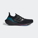 Adidas Ultraboost 21 [FZ1921] 男鞋 運動 休閒 支撐 避震 貼合 舒適 愛迪達 黑 藍