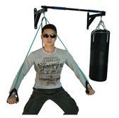 引體向上器墻體上壁門上單杠家用室內單雙杠沙袋架子健身器材   潮流前線
