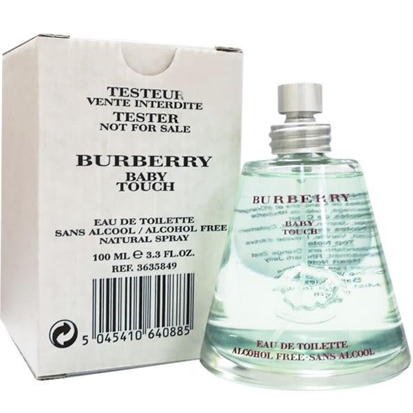 BURBERRY Baby Touch 綿羊寶貝中性淡香水 100ml Tester環保包裝 50378【娜娜香水美妝】