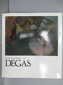 【書寶二手書T7/藝術_EP8】得加斯Degas_巨匠與世界名畫_附殼