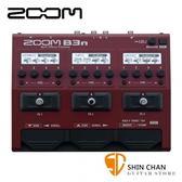 【電貝斯 綜合效果器】【ZOOM B3N】 【原廠公司貨】【一年保固】【BASS/貝士專用】